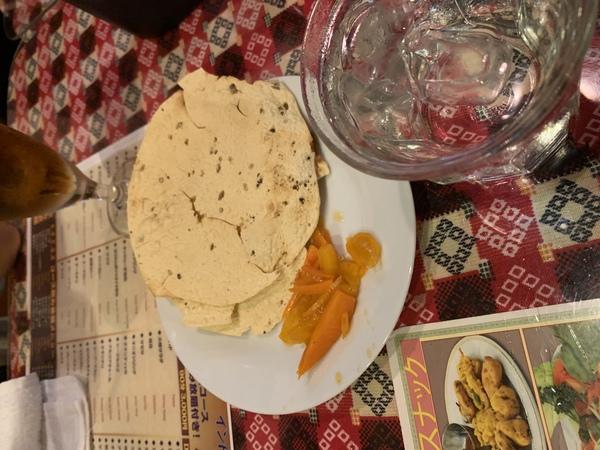 葛西の美味しいインドカレー バターカレー 葛西店様